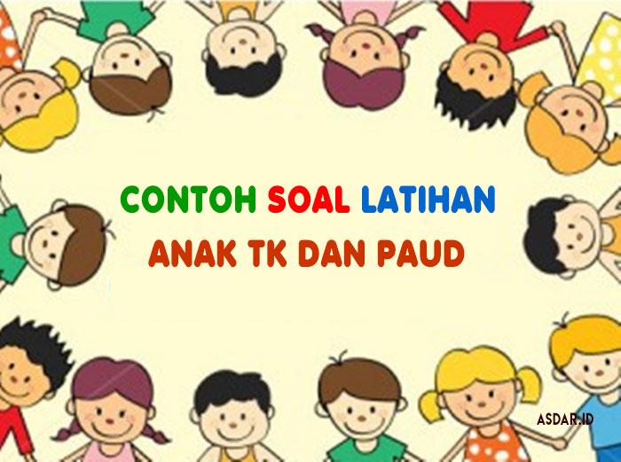 Download Contoh Soal Latihan Anak Tk Dan Paud Asdar Edu