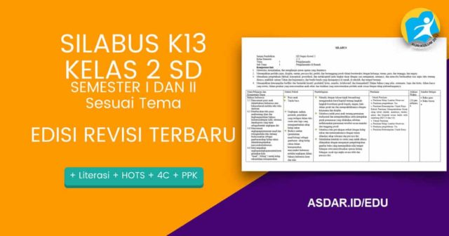 silabus k13 sd kelas 2