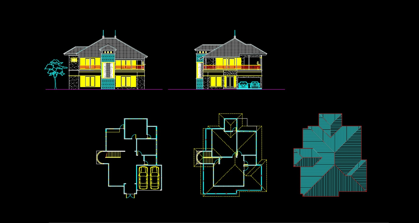 64+ Foto Membuat Desain Rumah Autocad Gratis Unduh