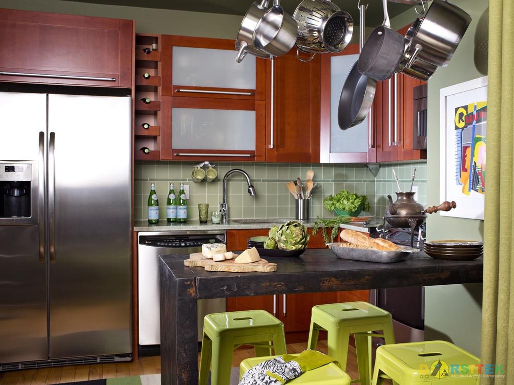 Gambar Desain Dapur Minimalis atau Dapur Modern Masa Kini