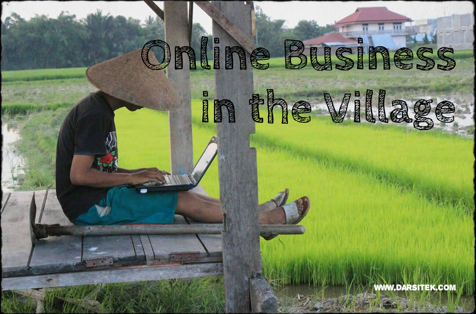 Online Business in the Village