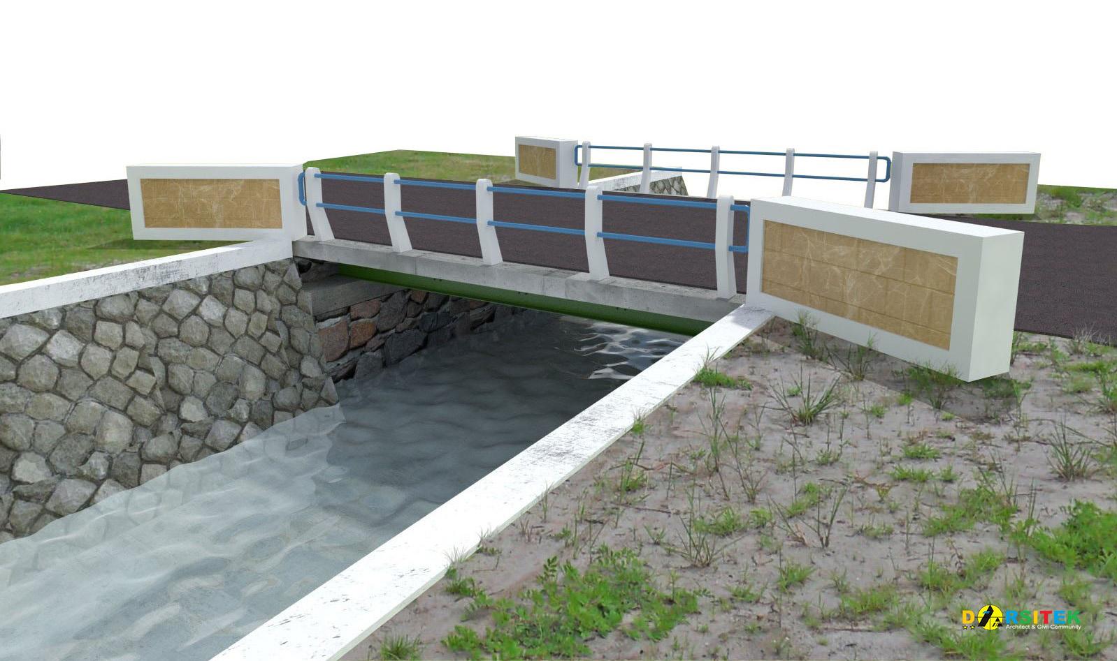 jembatan bentang 6 meter
