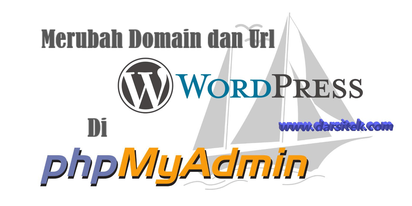 mengganti url wordpress di phpmyadmin