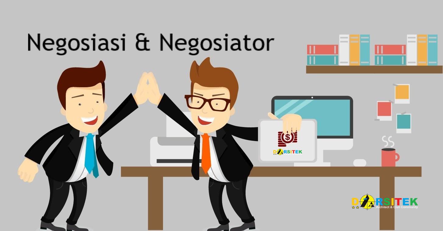 negosiasi dan negosiator