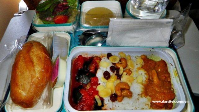 airplane food