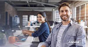 illustration of young entrepreneurs