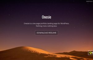 onesie wordpress