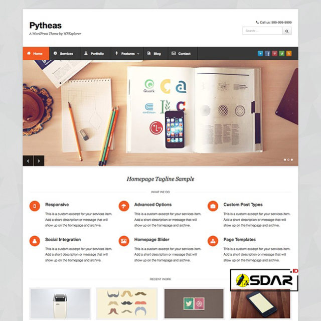 pytheas wordpress