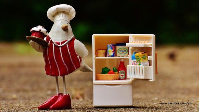 storage in food packaging