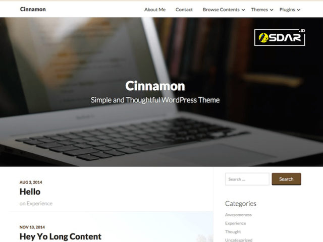 cinnamon wordpress