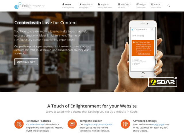 enlightenment wordpress