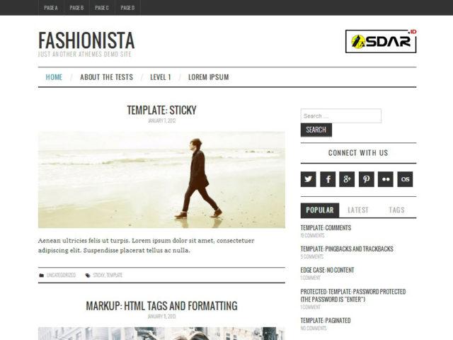fashionistas wordpress