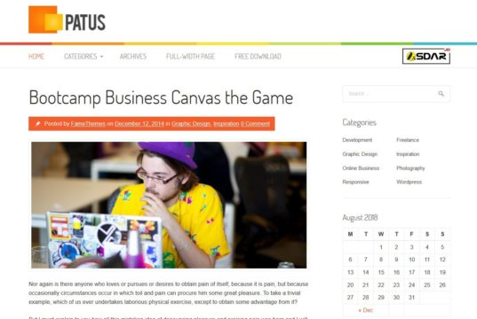 patus wordpress