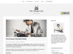 the thinker lite wordpress