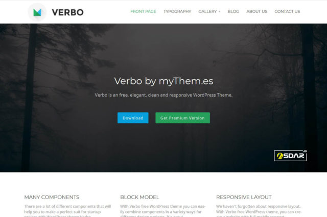 verbo wordpress