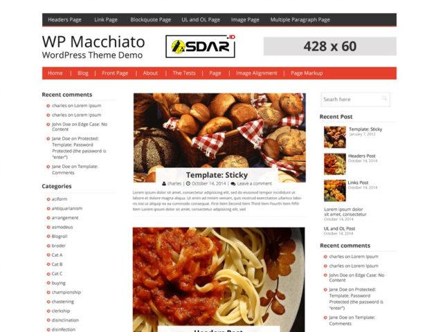 macchiato wordpress