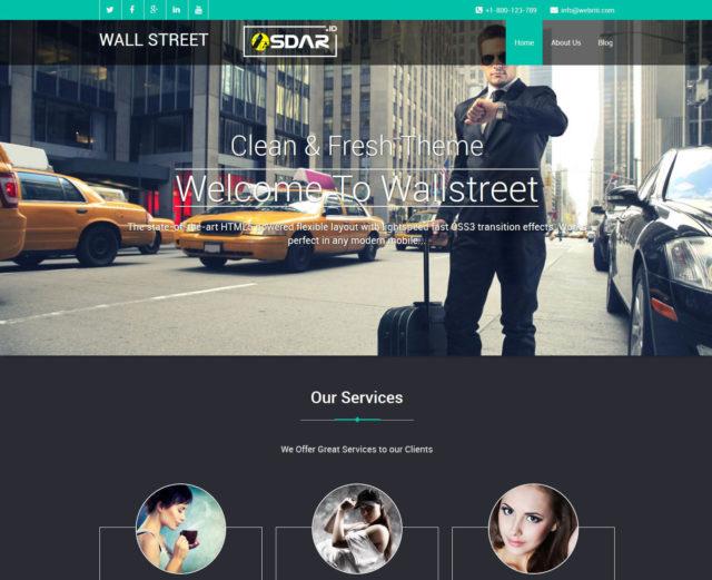 wallstreet wordpress