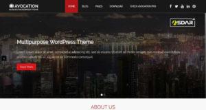 avocation wordpress