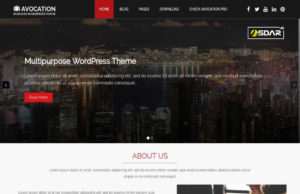 avocation wordpress