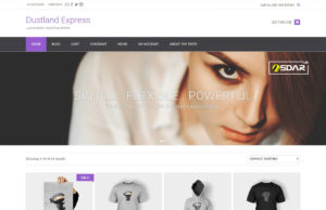 dustland express wordpress