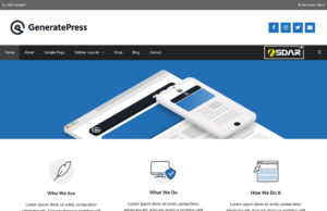 generatepress wordpress
