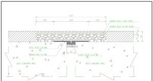 detail expantion joint tipe asphatic plug