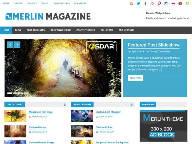 merlin wordpress