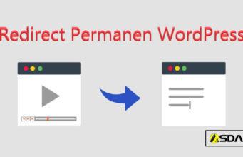 redirect permanen wordpress