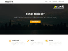 rocked wordpress