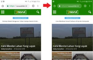 warna address bar pada browser mobile