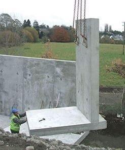 dinding penahan tanah cantilever