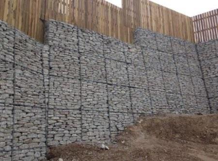 dinding penahan tanah gabion