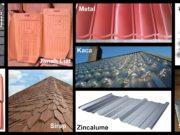 jenis atap dan kelebihan kekurangannya