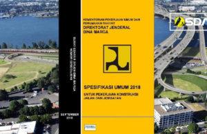 spesifikasi umum untuk konstruksi jalan dan jembatan