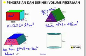 volume pekerjaan