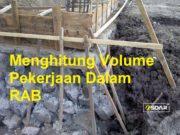 volume pekerjaan rab