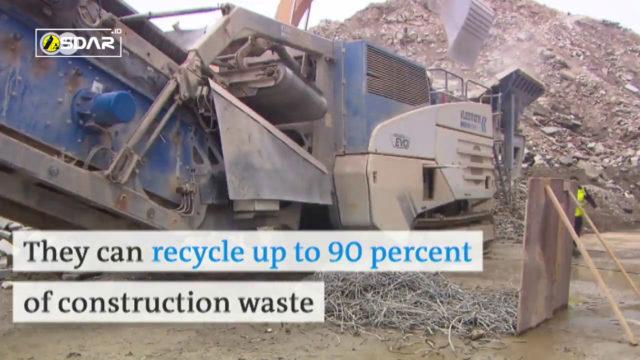 beton daur ulang