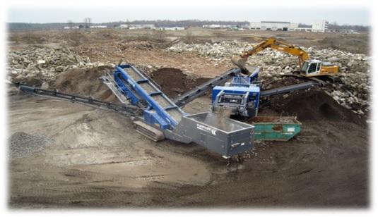 beton yang didaur ulang
