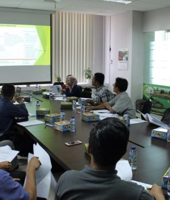 gambar pcm atau pre construction meeting