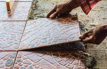 pemasangan lantai keramik