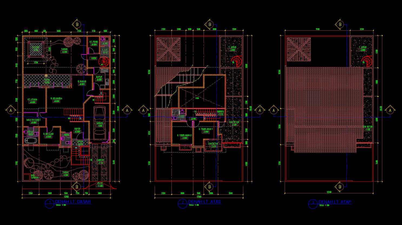108 Foto Download Desain Rumah Autocad Dwg Paling Keren Download