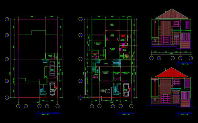rumah tinggal 13x14M