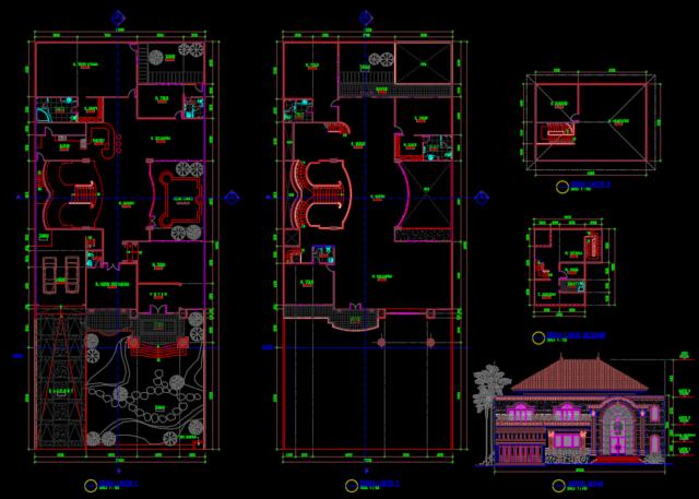 rumah tinggal 48x20M