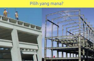 struktur beton dan struktur baja