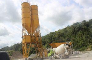 alat berat pada pekerjaan beton