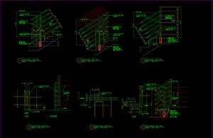 detail railing gudang