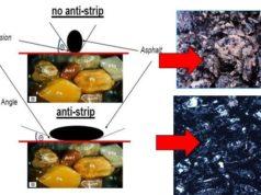 efek penggunaan bahan addictive anti pengelupasan (anti stripping agent)