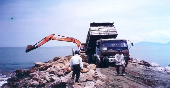 pelaksanaan proyek jetty