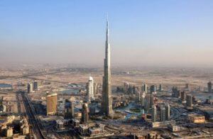Bangunan Tahan Gempa Burj Khalifa, Uni Emirat Arab