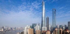 Bangunan Tahan Gempa Shanghai Tower, Tiongkok